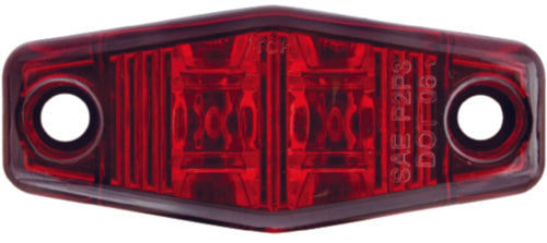 Optronics LED Mini Marker/Clearance Light Red MCL-13R2BP