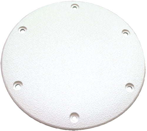 "T-H Marine Deck Plate Screw Down 6"" White DSSDP-12-DP"