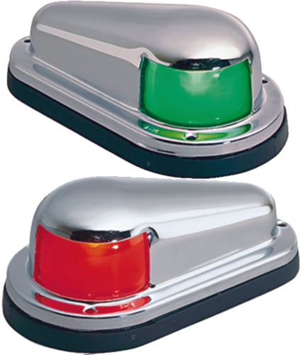Perko Side Lights Horizontal Mnt Chrome 0915-DP0-CHR
