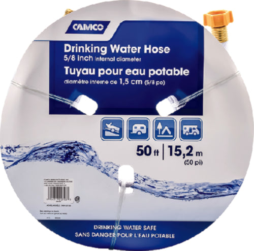 "Camco Fresh Water Hose 5/8""x50ft 22793"