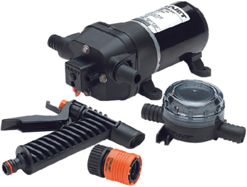 Flojet Quad Water Jet Washdown Pump Kit 3.5gpm 04305144L