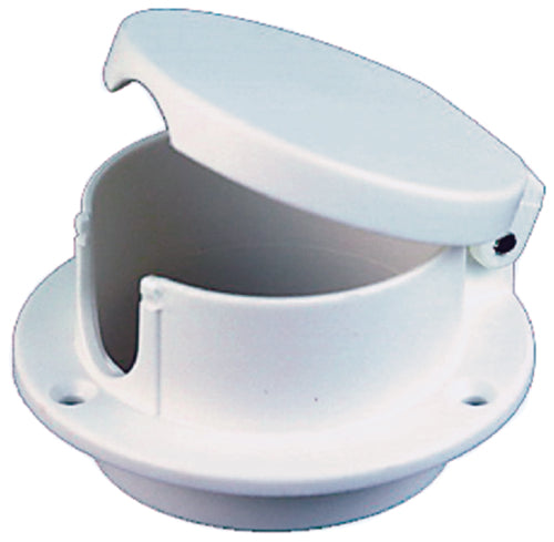 "Perko 0365DP 2-7//8/"" White Thru-Hull Marine Scupper Valve"