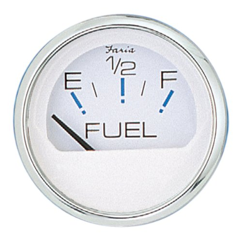 "Faria Chesapeake White S/S Fuel Level 2"" (E-1/2-F) 13801"