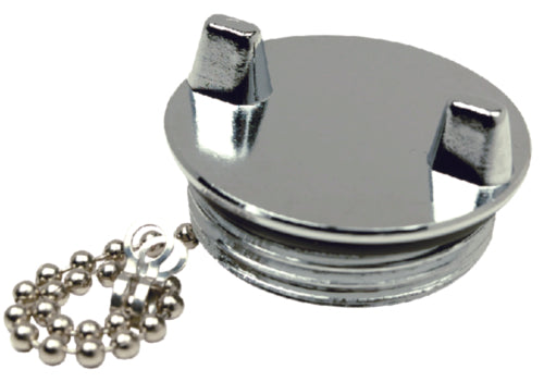 "Seachoice Deck Fill Cap Only 1-1/2"" Chrome 50-32521"