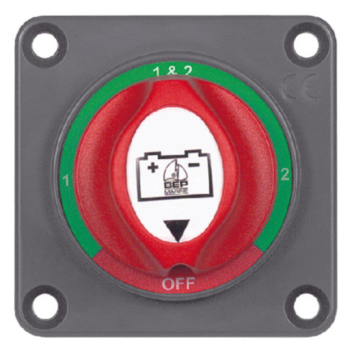BEP Mini Selector Switch Off/1/Both/2 701S-PM