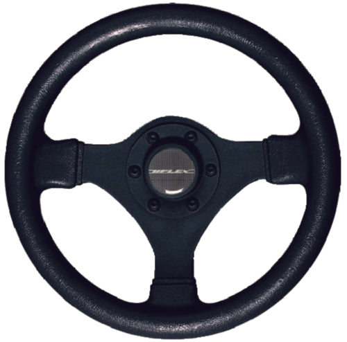 U-Flex Steering Wheel Soft Touch Black V45