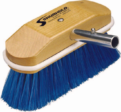"Shurhold Deck Brush Extra Soft Nylon 8"" Blue 310"