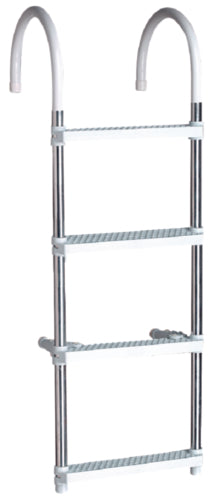 "Seachoice Ladder 48"" w/11"" Hooks 4-Step 50-71560"