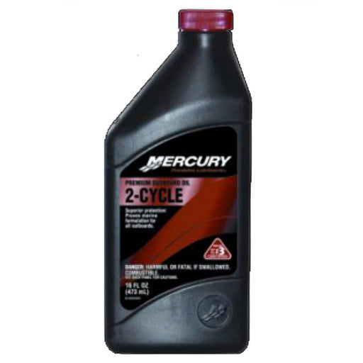 Mercury Premium 2-Cycle TC-W-3 O/B Oil 16oz Ea 92-858020K01