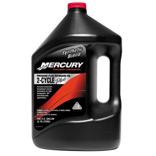 Mercury Premium Plus 2-Cycle O/B Oil Gal Ea 92-858027K01