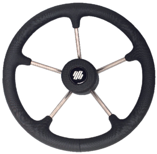 U-Flex Steering Wheel Black Poly V70B