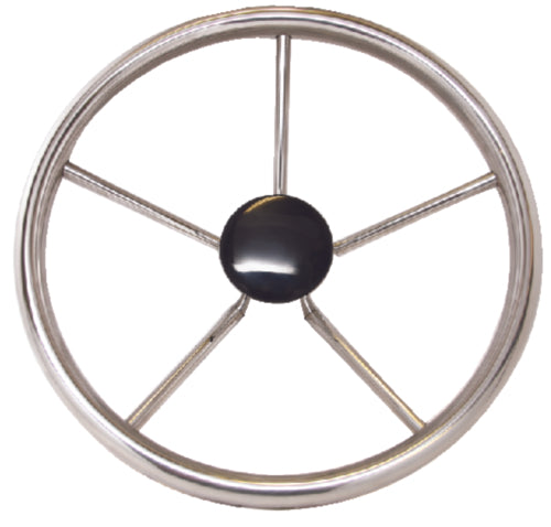 "Seadog Steering Wheel w/Plastic Center Cap 12"" S/S 230212"