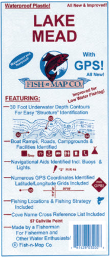 Fish-N-Map Lake Mead 03205