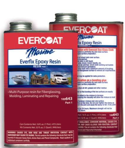 Evercoat Everfix Epoxy Resin Kit Qt 100643