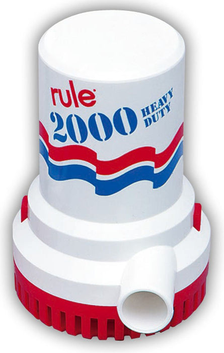 Rule Bilge Pump 2000gph 10
