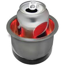 Seasense Drink Holder LED S/S