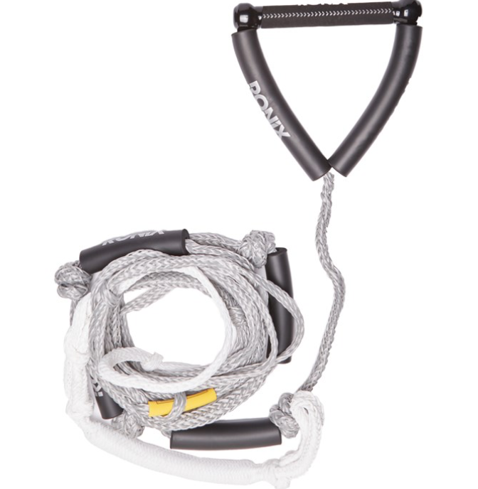 Ronix Bungee Surf Rope 25 Ft. Gray | 2021
