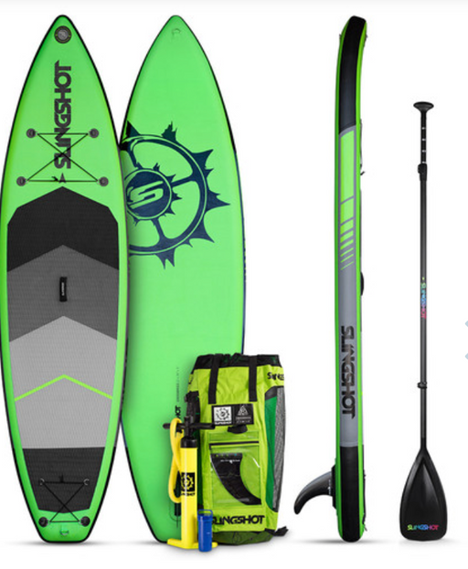 Slingshot Air-Tech Inflatable SUP 11' Green | 2019