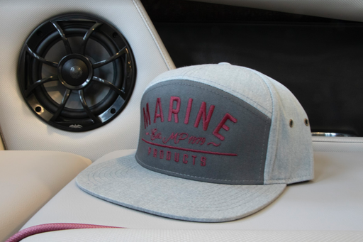 Marine Products Logo Hat 7 Panel Strap Back | 2019