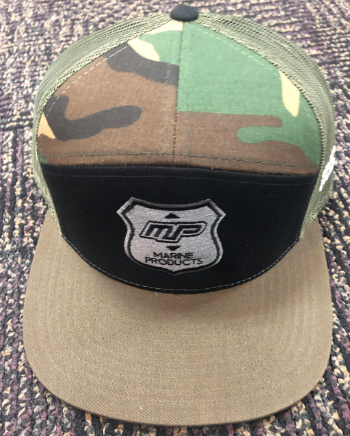 Marine Products MP Camo/Loden Hat 7P Snap Back | 2019