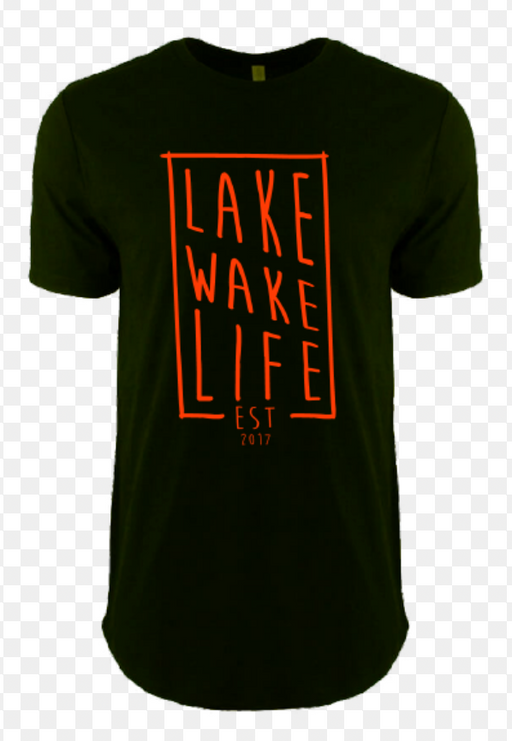 Lake Wake Life Sticks Tee BLK | 2019