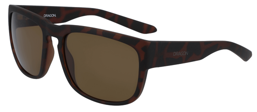 Dragon Rune Sunglasses Matte Tort.