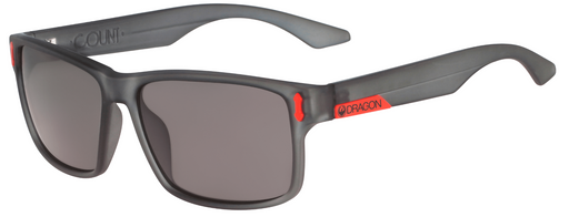 Dragon Count Sunglasses Matte Grey