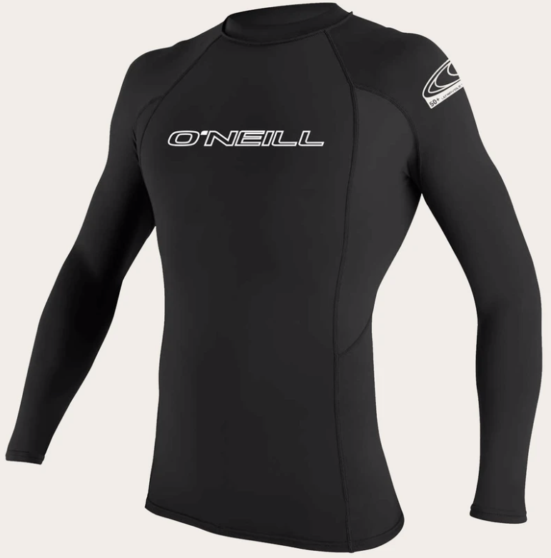 O'neill Basic UPF 50+ L/S Rash Guard BLK | 2020