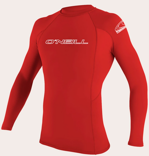 O'neill Basic UPF 50+ L/S Rash Guard Red | 2020