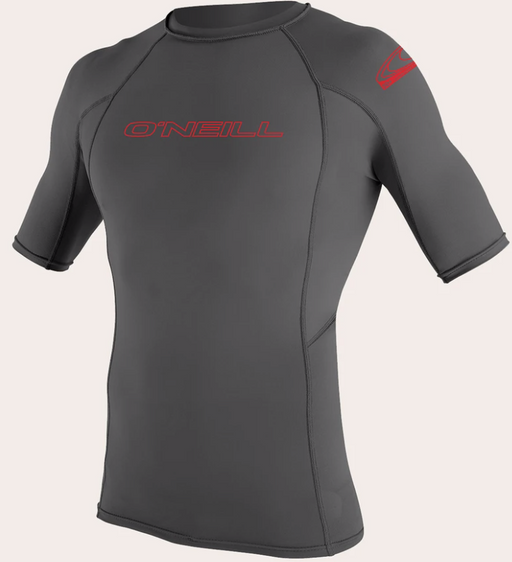 O'neill Youth Basic UPF 50+ S/S Rash Guard Graphite | 2020
