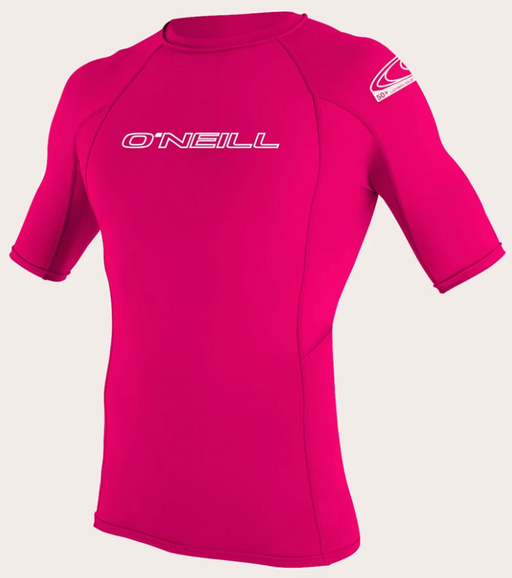 O'neill Youth Basic UPF 50+ S/S Rash Guard Watermelon | 2020