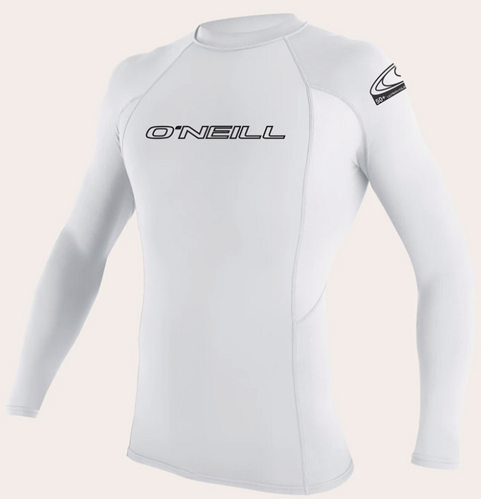 O'neill Youth Basic UPF 50+ L/S Rash Guard White | 2020