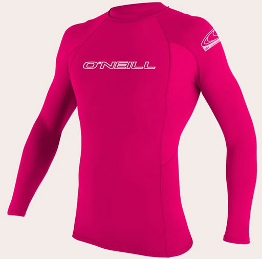 O'neill Youth Basic UPF 50+ L/S Rash Guard Watermelon | 2020