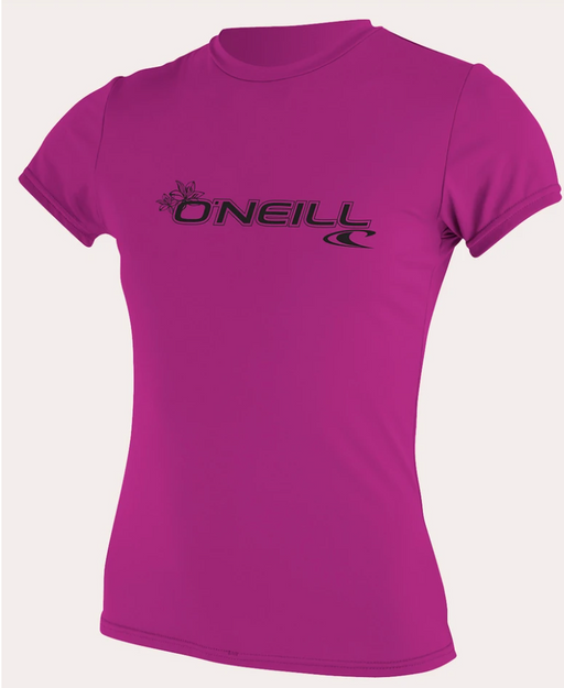 O'neill Women's Basic UPF 50+ S/S Sun Shirt Fox Pink | 2020