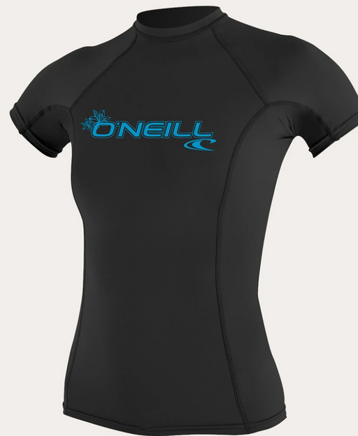 O'neill Women's Basic UPF 50+ S/S Rash Guard BLK | 2020