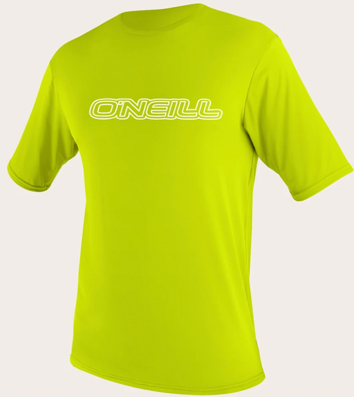 O'neill Toddler Basic UPF 50+ S/S Sun Shirt Lime | 2020