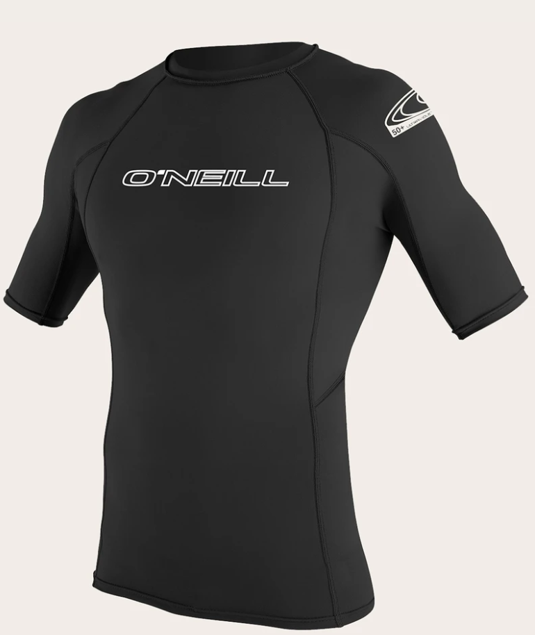 O'neill Basic UPF 50+ S/S Rash Guard BLK | 2020