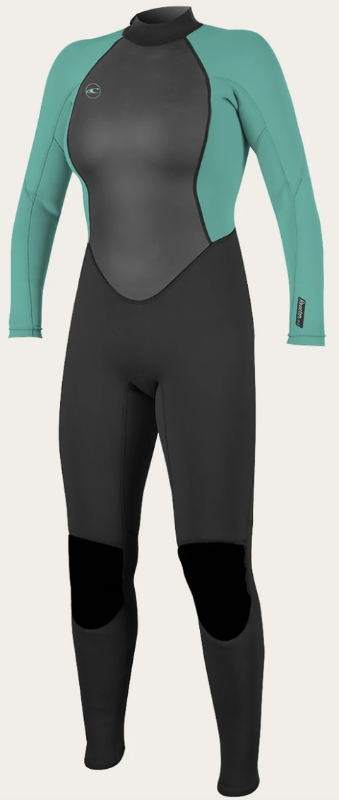 O'neill Women's Reactor-2 3/2mm BZ Wetsuit BLK/TEAL | 2020