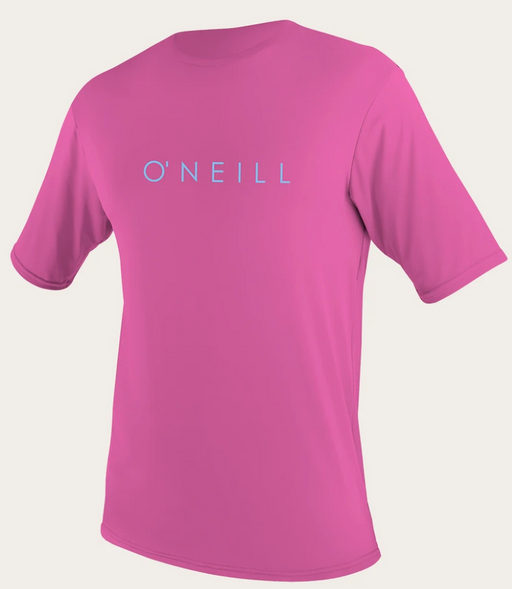 O'neill Youth Basic UPF 30+ S/S Sun Shirt FOX PINK | 2020