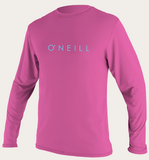O'neill Youth Basic UPF 30+ L/S Sun Shirt FOX PINK | 2020