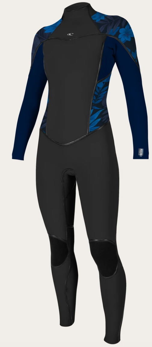 O'neill Women's Psycho One 4/3mm BZ Wetsuit BLK/ABYSS | 2020 | Pre-Order