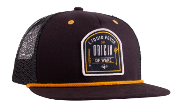 Liquid Force Origin Navy Trucker Snapback Hat | 2020