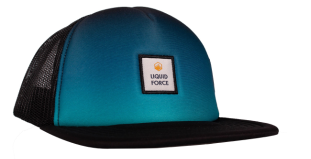 Liquid Force Faded BLK Foam Trucker Snapback Hat | 2020