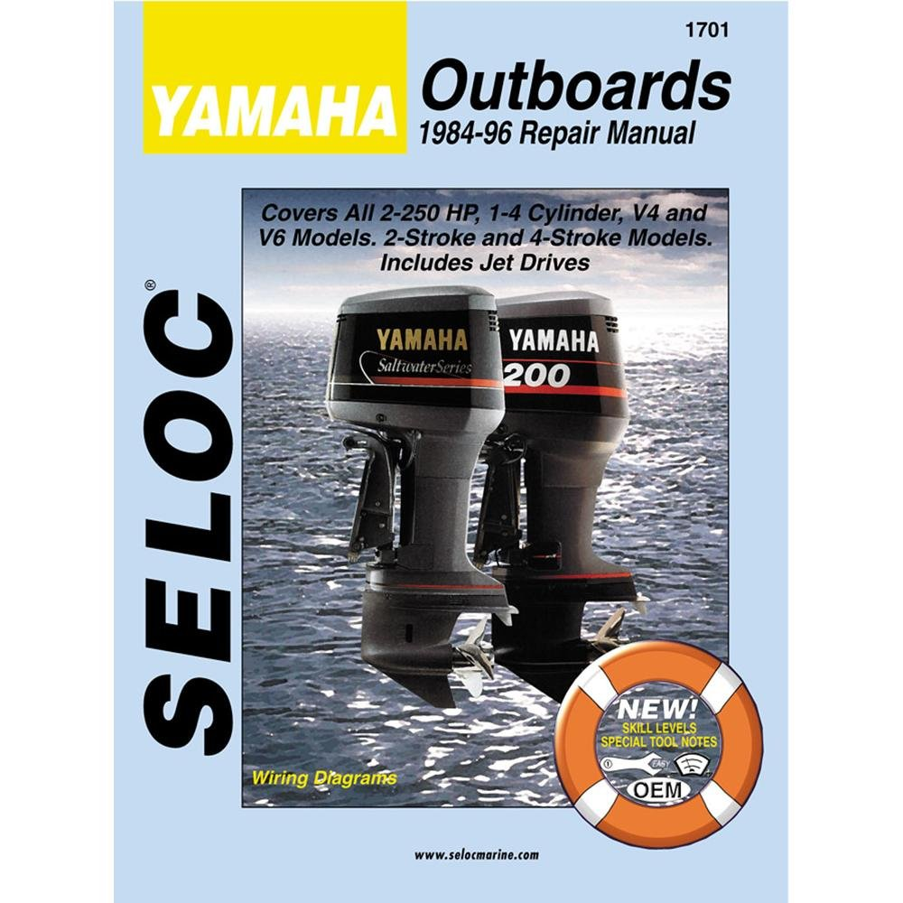 Seloc Manual Yamaha O/B 1984-1996 1701