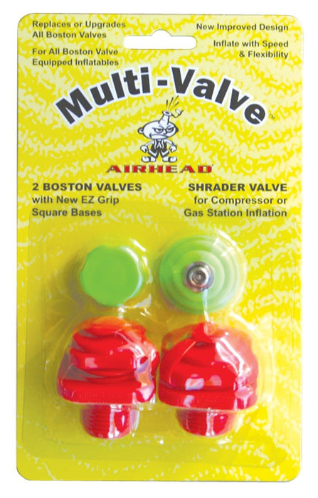 Airhead Tube Boston Multi-Valves | 2 Pack | #253-AHMV1