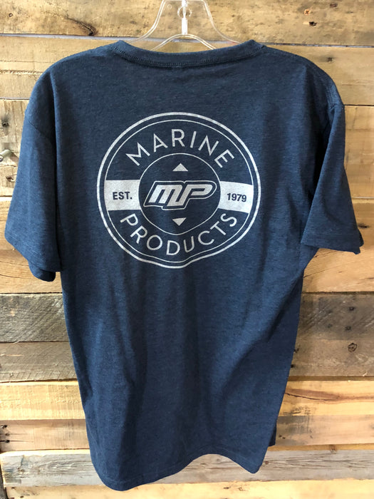 MP Print T-Shirt - Navy - Xxl