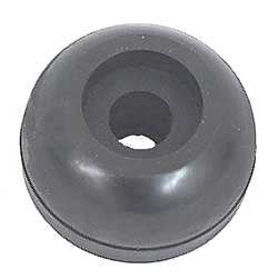 "Yates Roller End Cap 2-1/2"" Black 0500555"