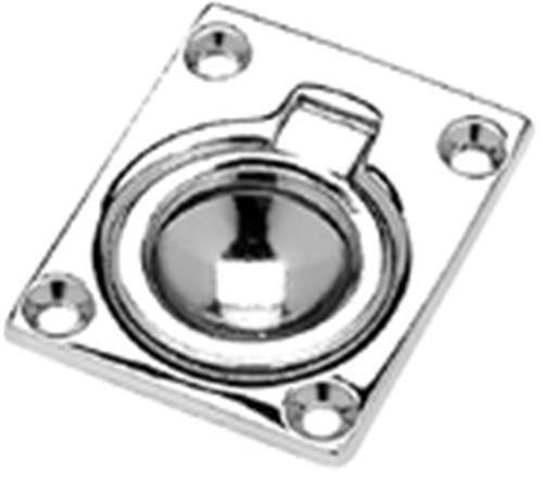 "Seachoice Ring Pull Flush Mnt 1-7/8""x2-1/2"" Chrome 50-36681"