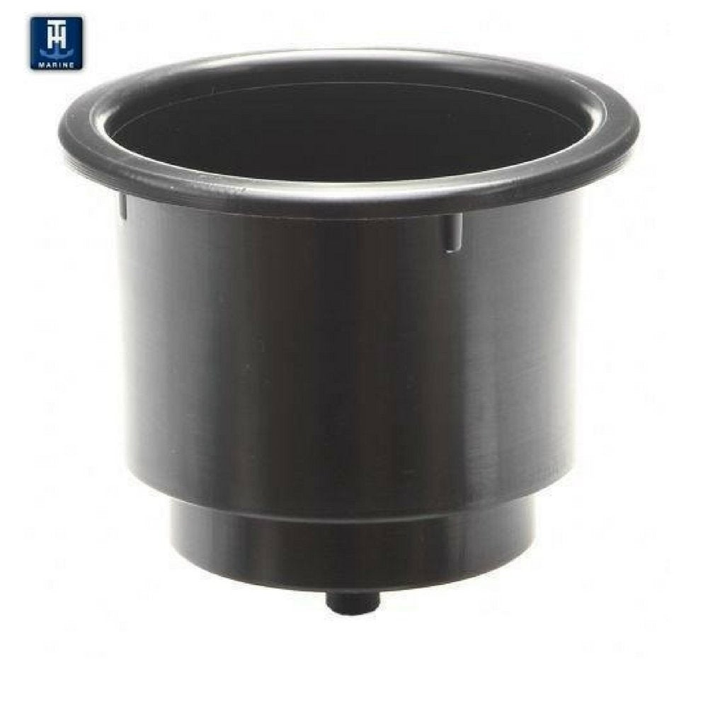"T-H Marine Drink Holder 4.2"" Black LCH-1-DP"