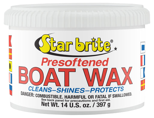 Starbrite Boat Wax Pre-Softened 14oz 82314